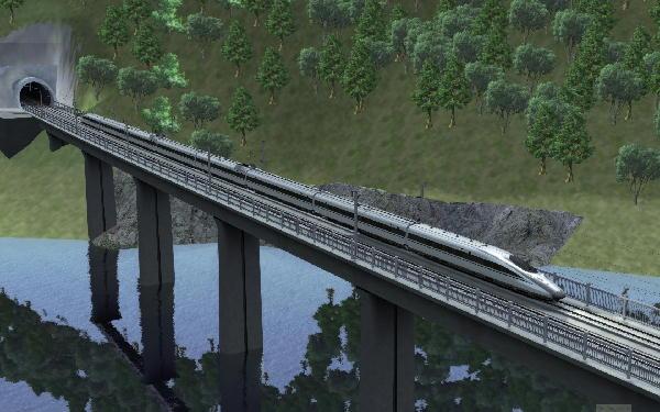 Train Simulator 2017 で世界鉄...